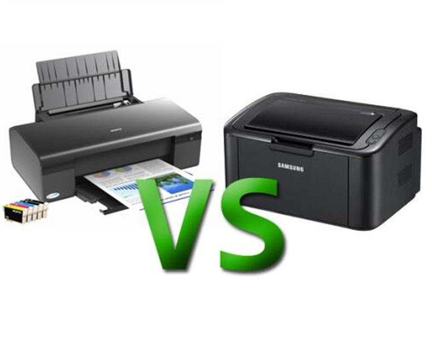 Струйные принтеры остаются популярнее лазерных!
