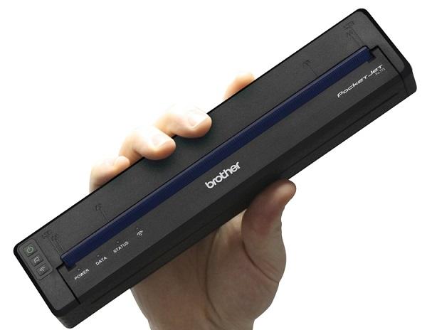 Brother представляет мобильный принтер PocketJet 7 для печати формата А4