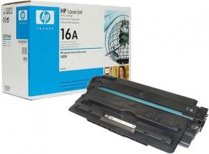Заправка картриджа HP LJ Q7516A (16A)