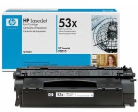 Заправка картриджа HP LJ Q7553X (53X)