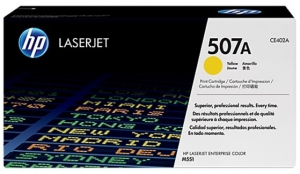 Заправка картриджа HP CE402A (507A)