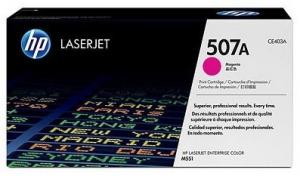 Заправка картриджа HP CE403A (507A)