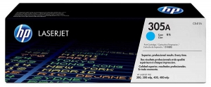 Заправка картриджа HP CE411A (305A)