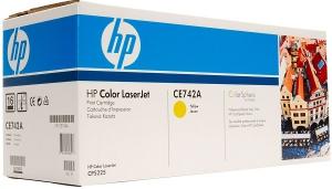 Заправка картриджа HP CE742A (307A)