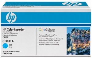 Заправка картриджа HP CF031A (646A)