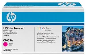 Заправка картриджа HP CF033A (646A)