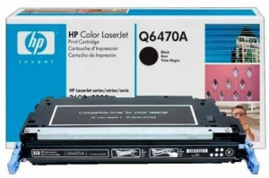 Заправка картриджа HP Q6470A (501A)