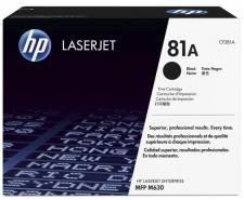 Заправка картриджа HP LJ CF281A (81A)