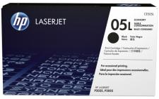 Заправка картриджа HP LJ CE505L (05L)