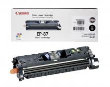 Заправка картриджа Canon EP-87Bk